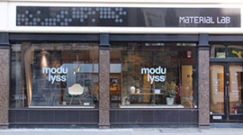 UK Showroom modulyss in London