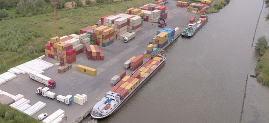 Balta slashes transport related CO2 emissions by 72% with move to inland waterway